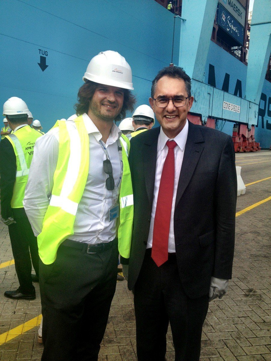 Conference de presse Maersk Tanger